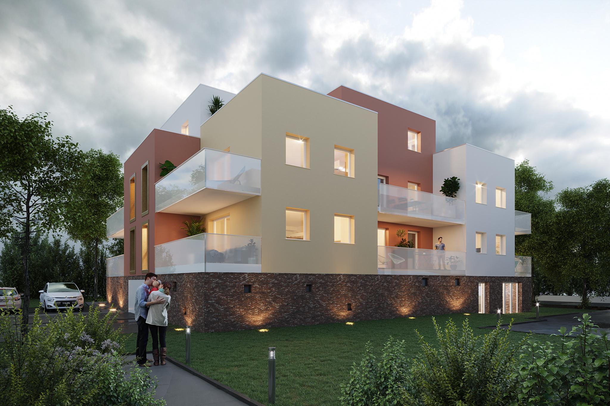 Perspective résidence GALENA